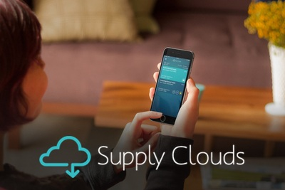 Screenshot of work Supply Clouds